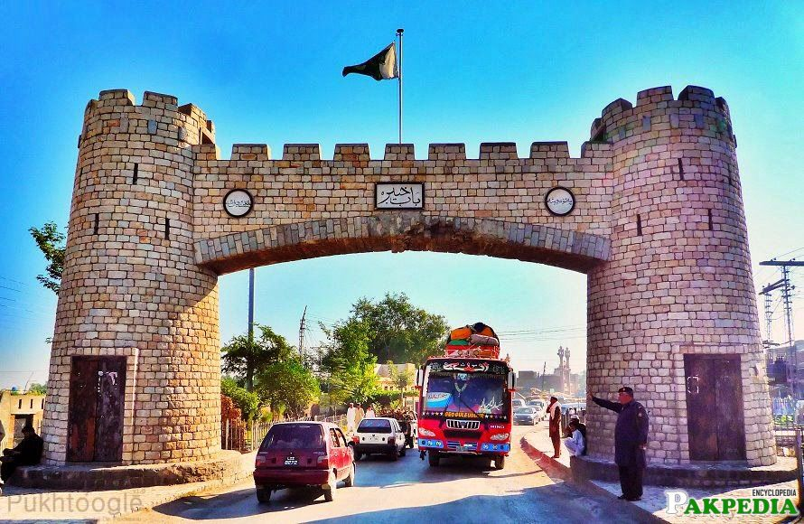 Khyber Pass is historical Gate