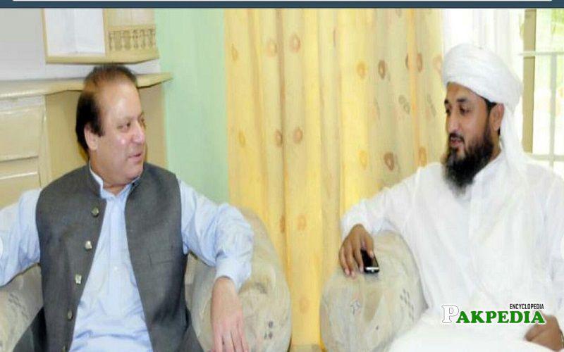 Abid Raza with Nawaz Shareef
