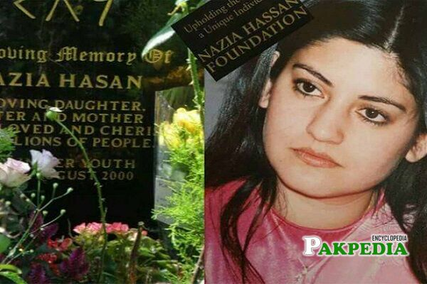Nazia Hassan Death
