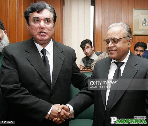 With Justice Abdul Hameed Dogar