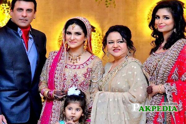 Anoushay Abbasi Family