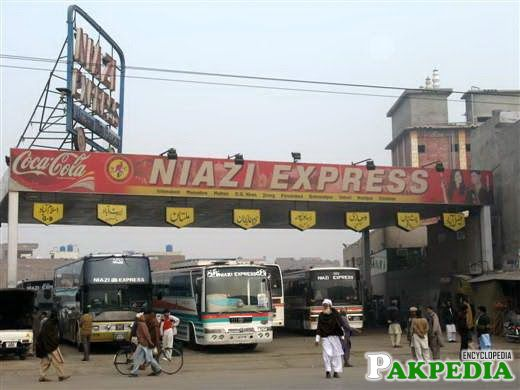 Niazi Express in all cities of Pakistan