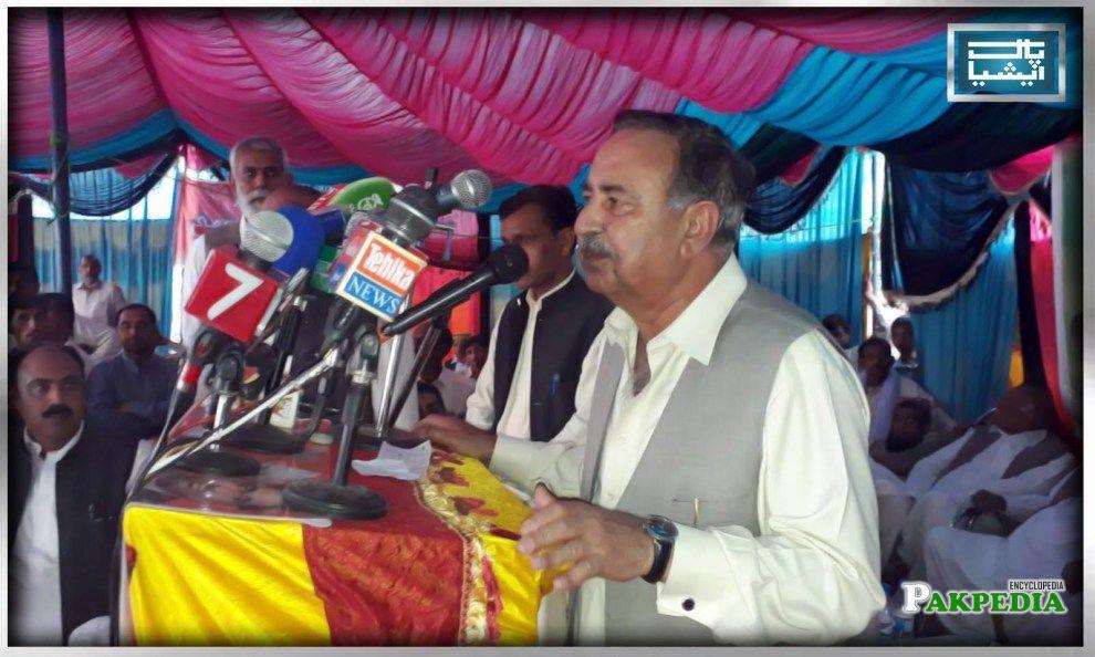 Speech in PML-N Jalsaa
