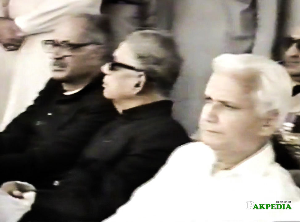 Chief Justice Haleem and Air Chief Marshal Zulfiqar Ali Khan