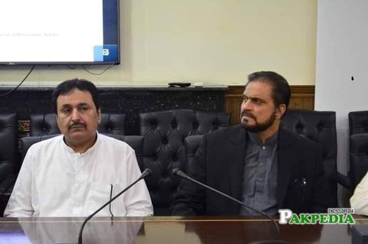 Ejaz Khan serves as a Chairman CM Inspection Team Punjab