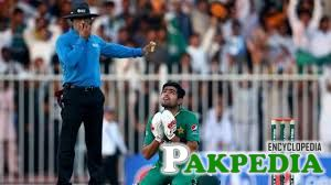 Babar Azam on knees