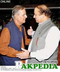Hashmi meets Nawaz sharif