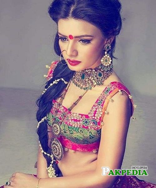 Kiran in her bold attire for a shoot