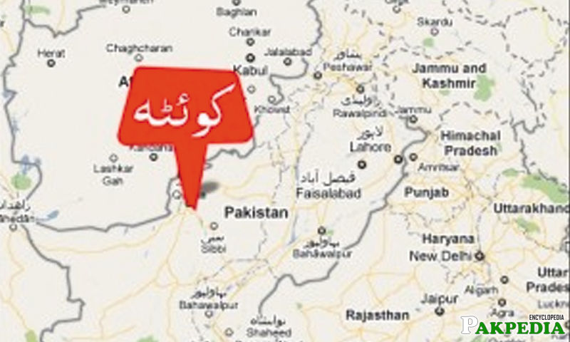 Quetta Map
