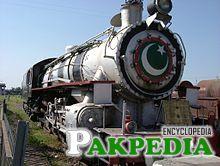 Steam Locomotive in Pindi Station