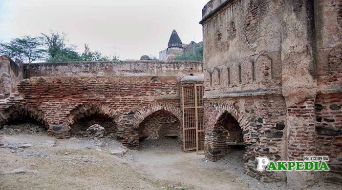 Internally View of Attock Fort