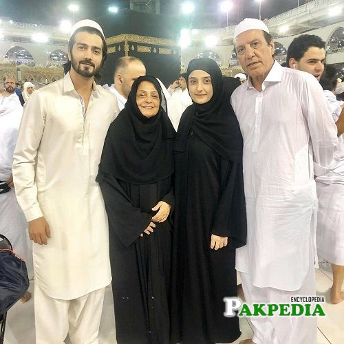Javed Sheikh Family