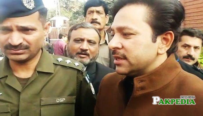 Afzal Khokhar arrested in a land grabbing case