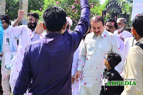 Ameer Muhammad Khan elected as MPA