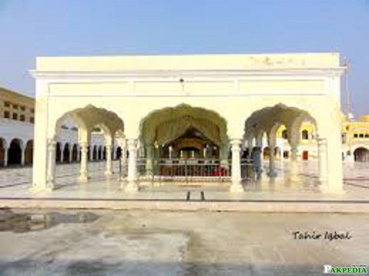 The inside view of Gurdwara nankana sahib