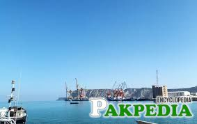 The sea of gwadar