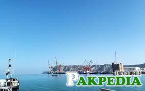 The sea of gwadar