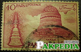 Stupa in Taxila Pakistan
