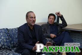 Babar Awan Sitting with Imran Khan