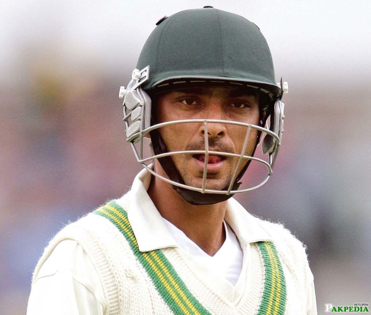 Yasir Hameed in Test