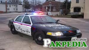 Punjab Police Car