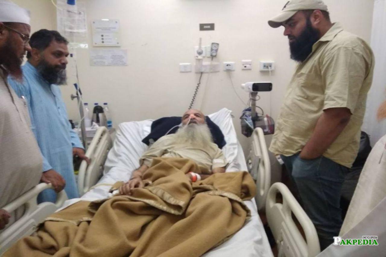 Haji Abdul wahab diagnosed with dengue