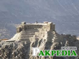 Baltit Fort at Mountain