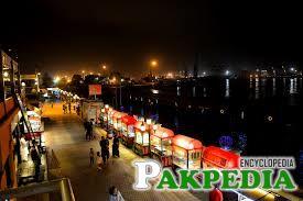 Port Grand, Karachi food Street