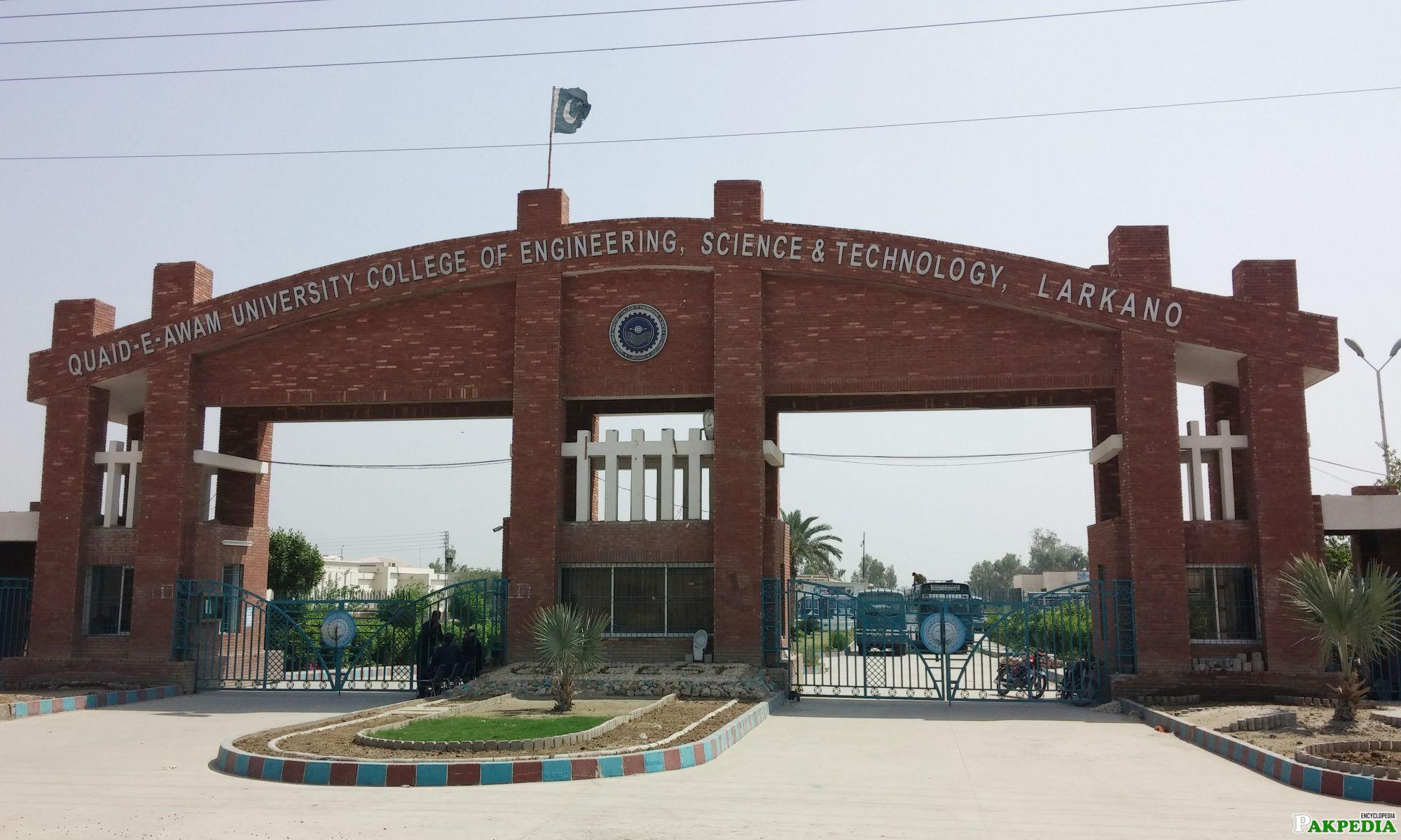 University and college of Larkhana