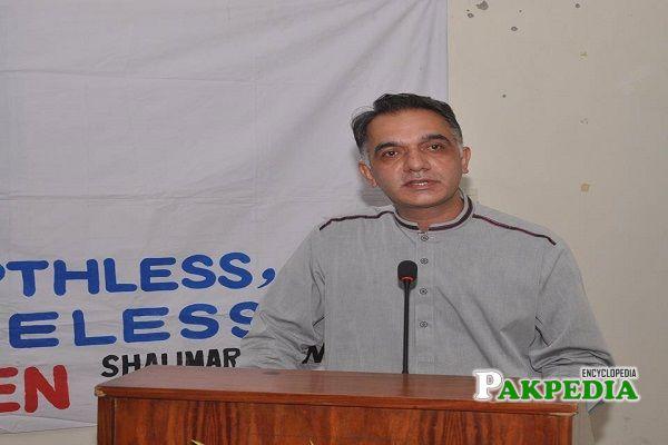 Shahbaz Ahmad served as a Vice chairman Wasa