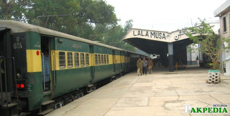 Pakistan Railway Lala Musa