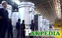 KARACHI: A view of steel making department of Pakistan Steel Mills