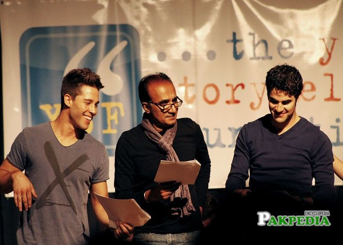 Dean Geyer, Iqbal Theba, Darren Criss