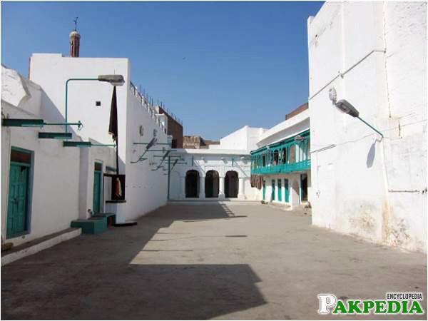 Courtyard of nisar haveli