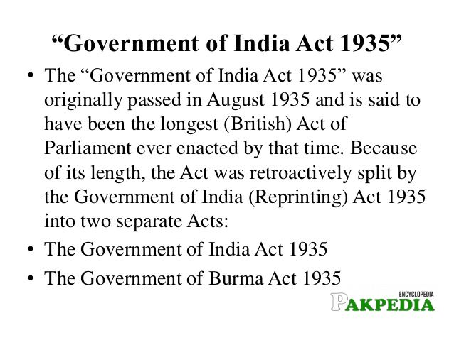 Key Points of Act