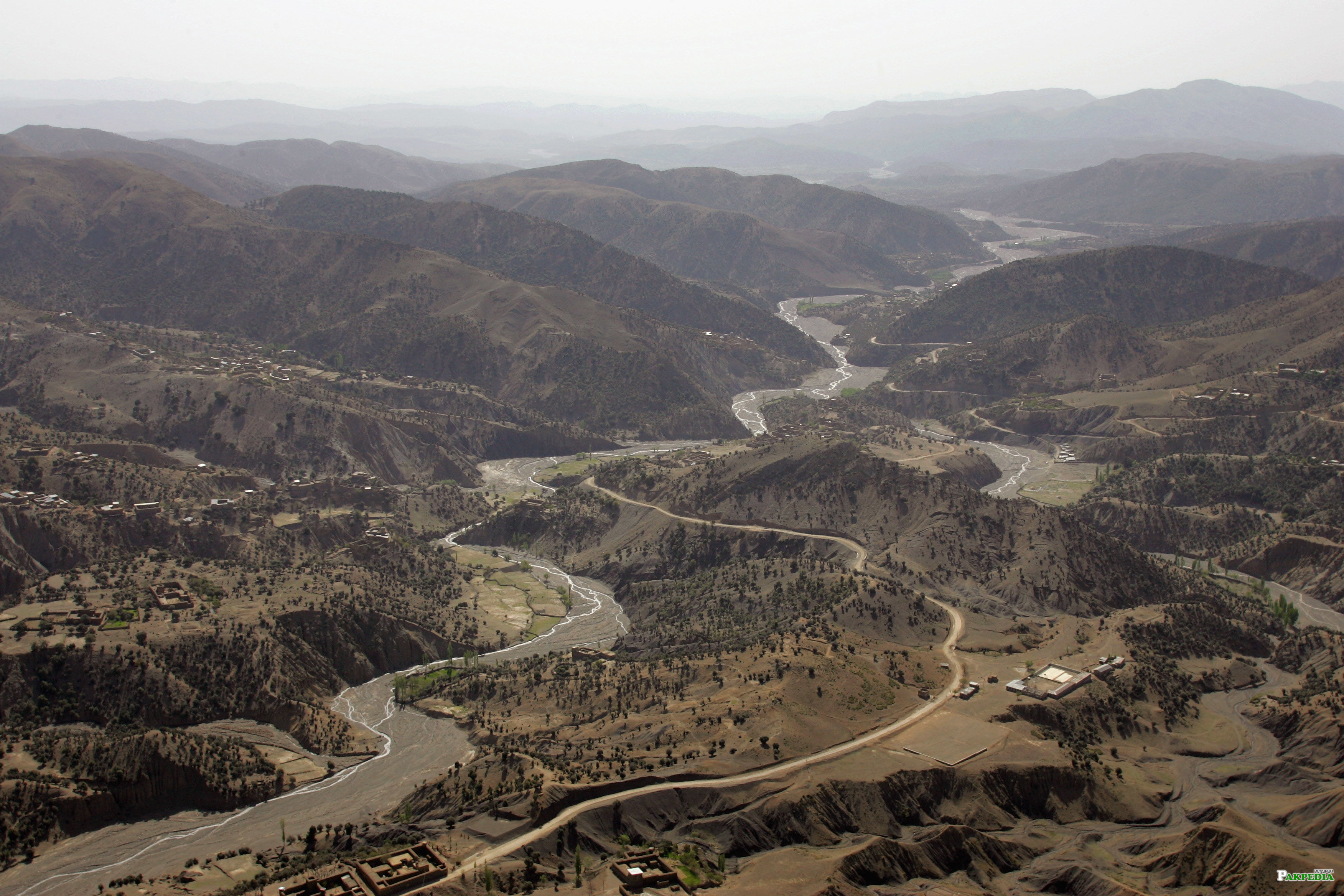 Over view of South Waziristan