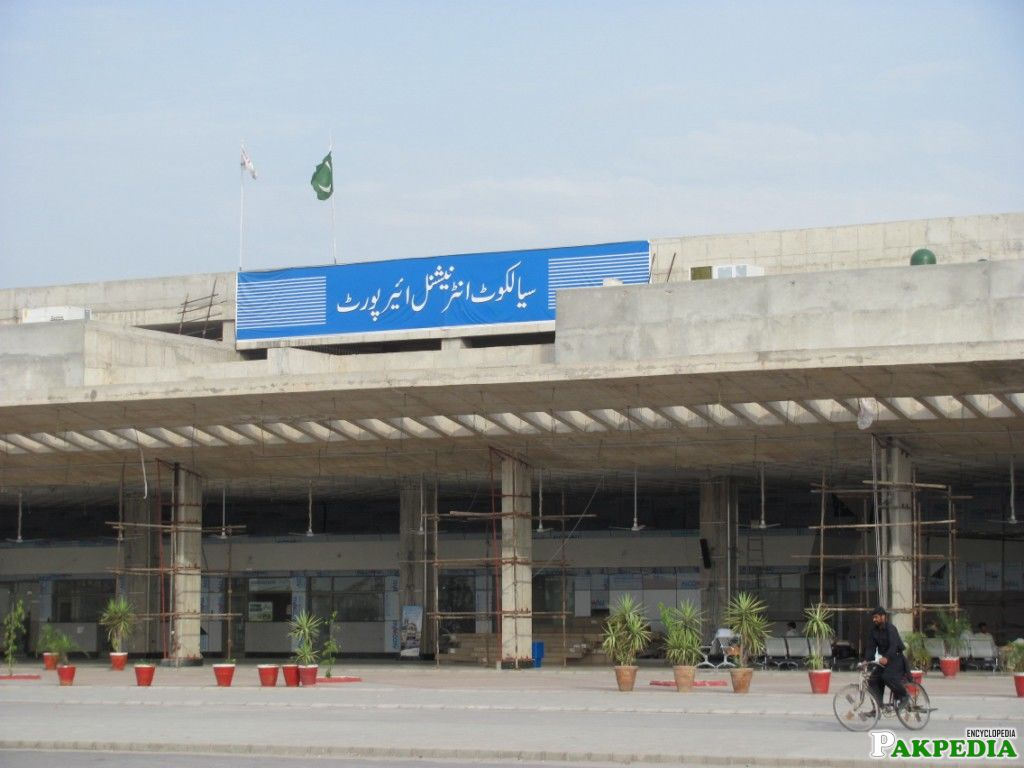 Sialkot International Airport also for Domestic