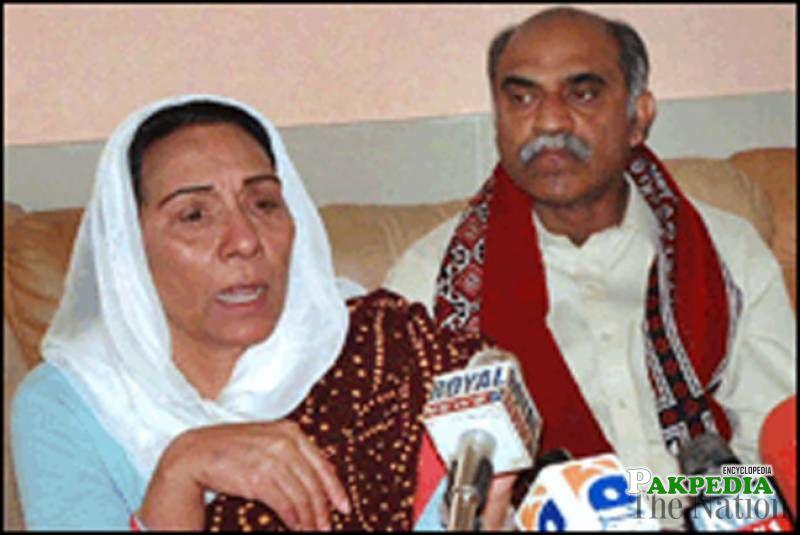 Safdar Ali and his Wife
