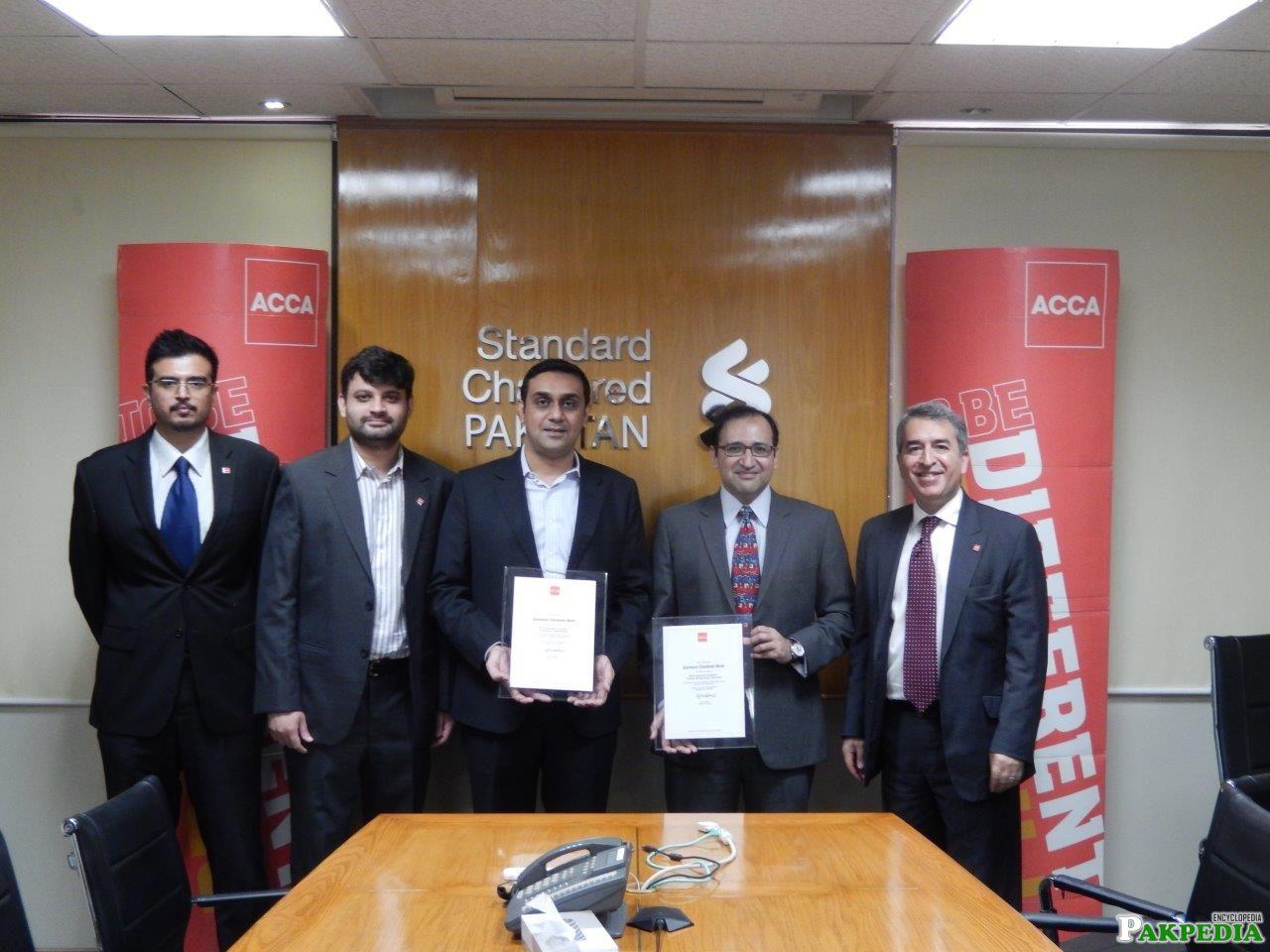 Standard Chartered Bank Award