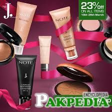 j. Cosmetic Brand