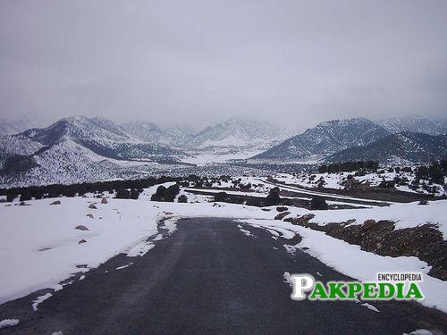 Kurram Agency in a winter Season