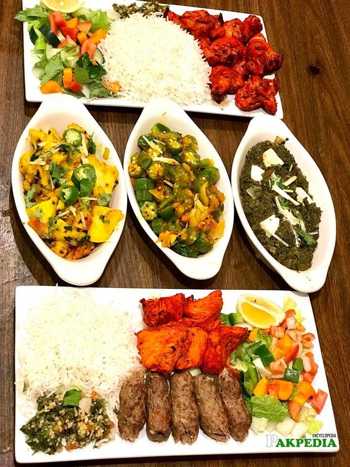 Dishes in Restaurant