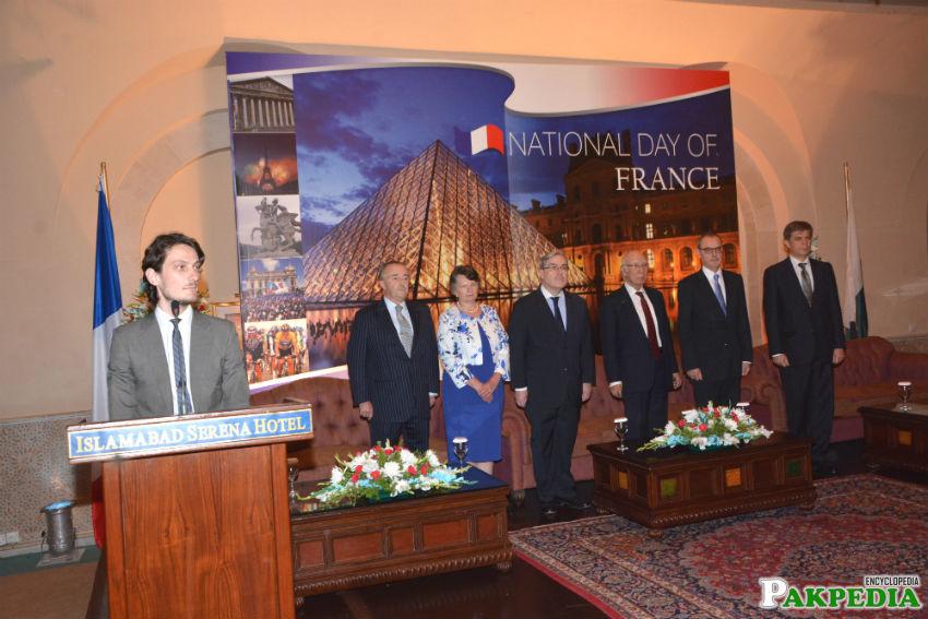 France embassy Ceremony