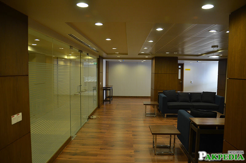 Soneri Bank Headoffice floor