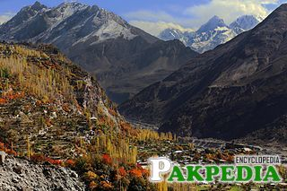 Hunza Valley in late autumn