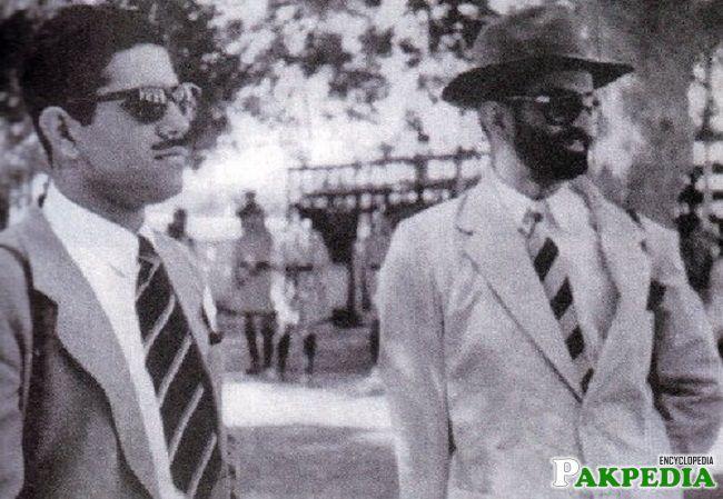 With Akbar Bughti