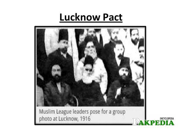 Muslim League Members at Lucknow