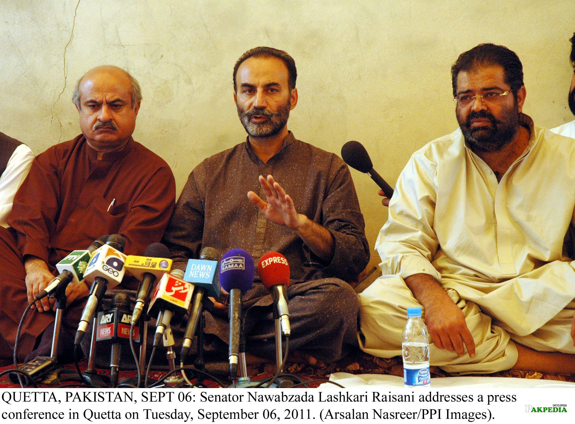 While addressing a Press Conference