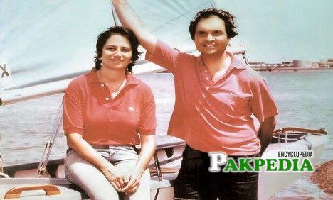 Byram avari and his wife