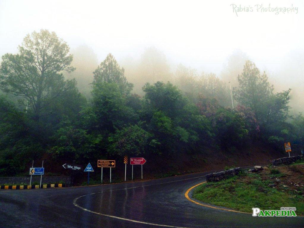 Margalla Hills Road